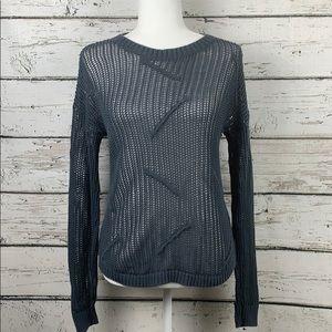 {FREE PRESS} Open Knit Sweater Size Small